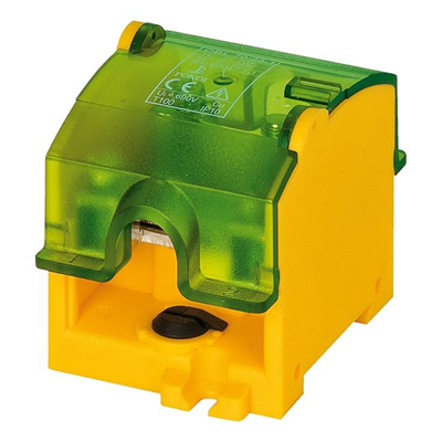 Колодка OBL 70/25-1W YELLOW-GREEN